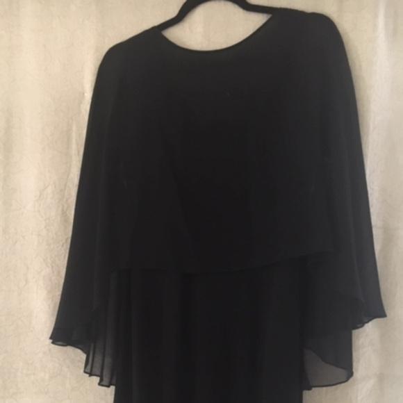Melinda Eng Dresses & Skirts - Melinda Eng Evening Black Silk Evening Gown